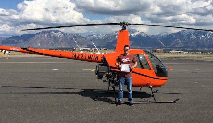 Dallin Anderson – Another Commercial Pilot Added To The Ranks!